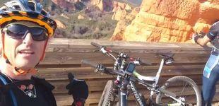 Post de Jesús Calleja, evacuado en helicóptero tras sufrir un accidente en bicicleta