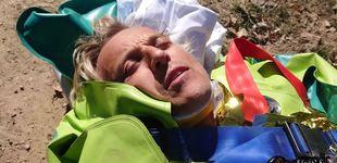 Post de Jesús Calleja muestra las imágenes de su rescate en helicóptero