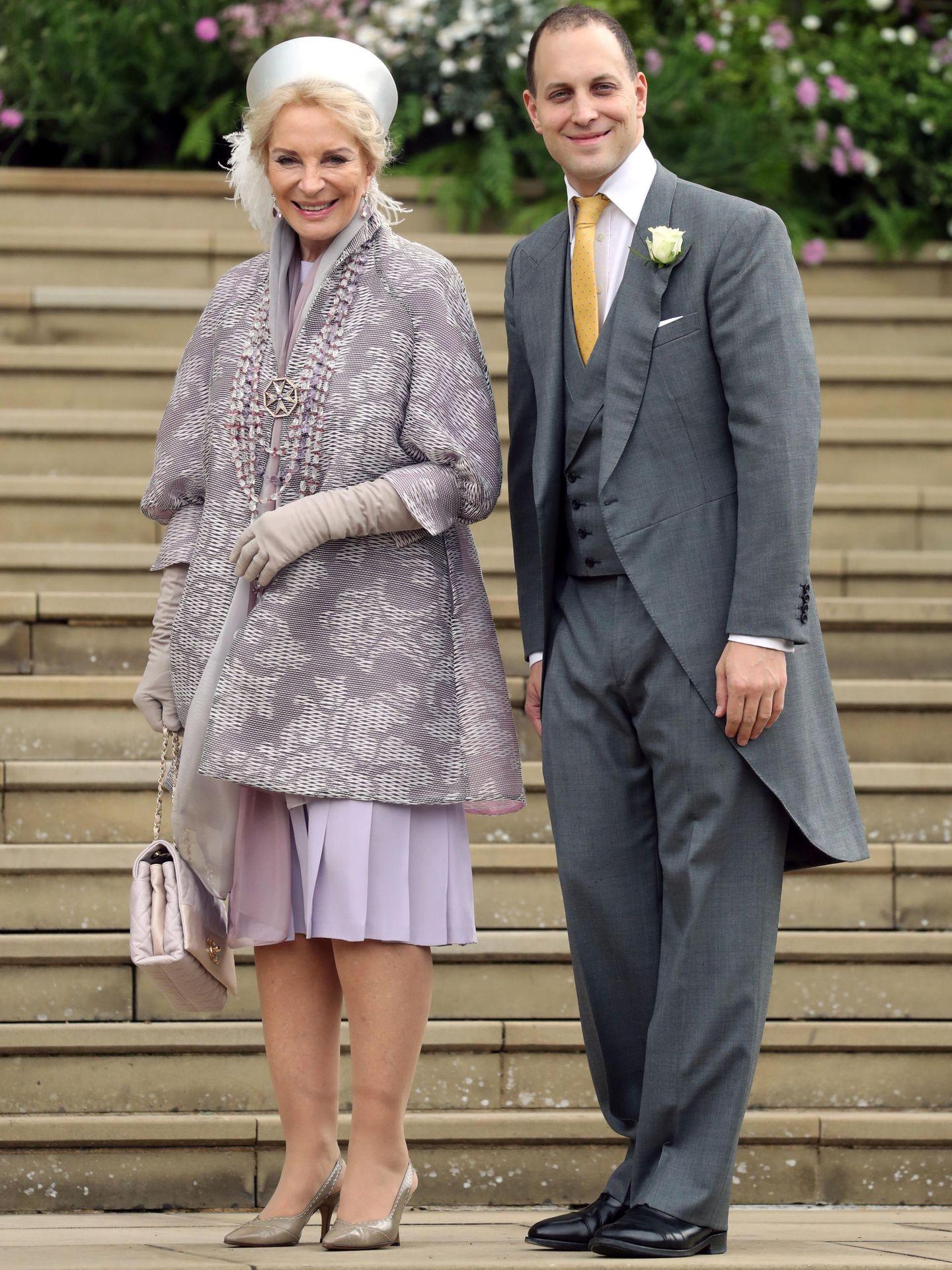 La princesa Michael de Kent, en la boda de su hija, Lady Gabriella Windsor. (Reuters)