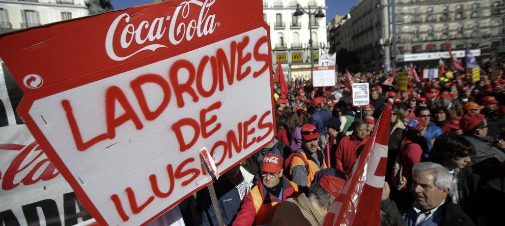 Adiós chollo: los sindicatos de Coca-Cola, sin chispa de la vida