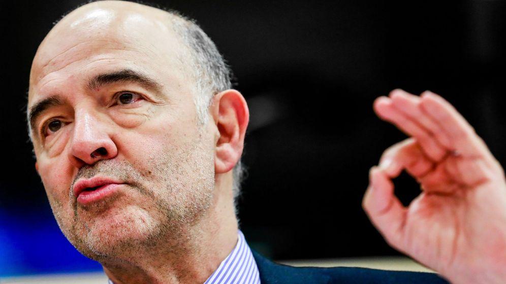 Foto: Pierre Moscovici, comisario de Asuntos Económicos y Financieros. (EFE)