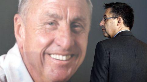 Cruyff critica desde la tumba la política del Barça y la independencia de Cataluña