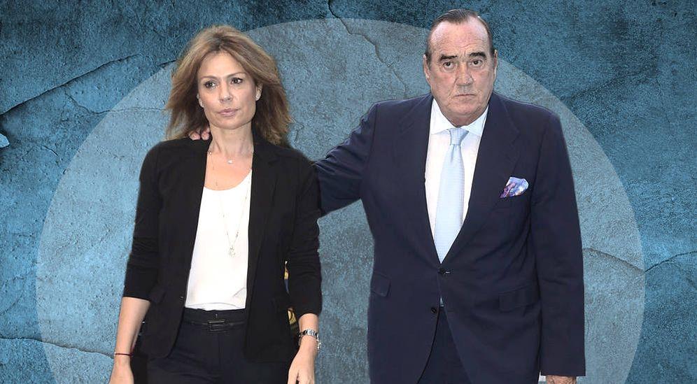 Foto: Nuria González y Fernando Fernández Tapias, en un fotomontaje realizado por Vanitatis.