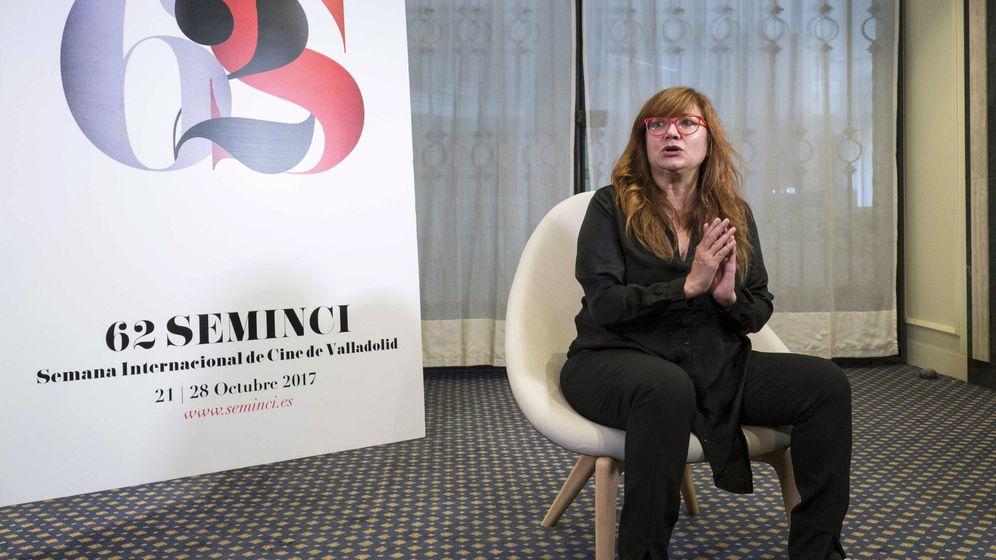 Foto: Isabel Coixet presenta 'La librería' en Seminci. (Efe)