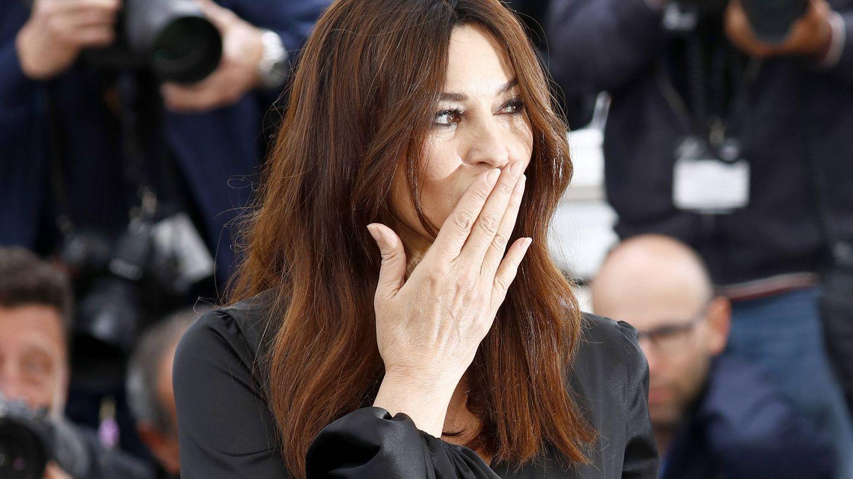 Monica Bellucci, 55 años y un rostro divino. (Getty)