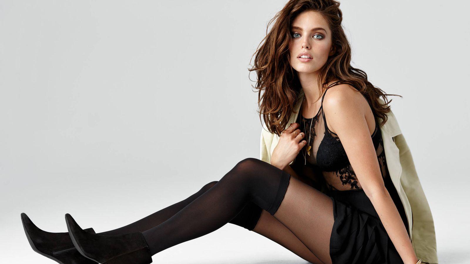 Foto: Que el exceso o defecto de ropa nunca condicione las ganas de sentirte cómoda con el look elegido. (Calzedonia)
