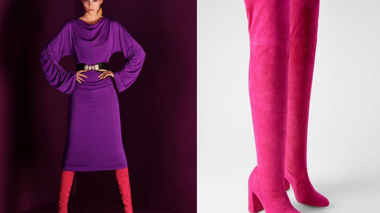 Estilismo de la nueva colección de Zara. (Cortesía)