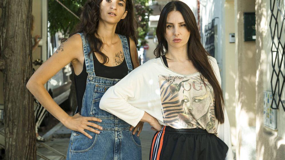 Foto: Mala Rodríguez junto a la actriz Alba Flores. (Fox)