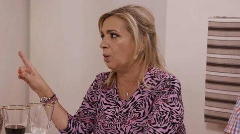 Carmen Borrego saca las uñas por Terelu ante el ataque de Víctor Sandoval