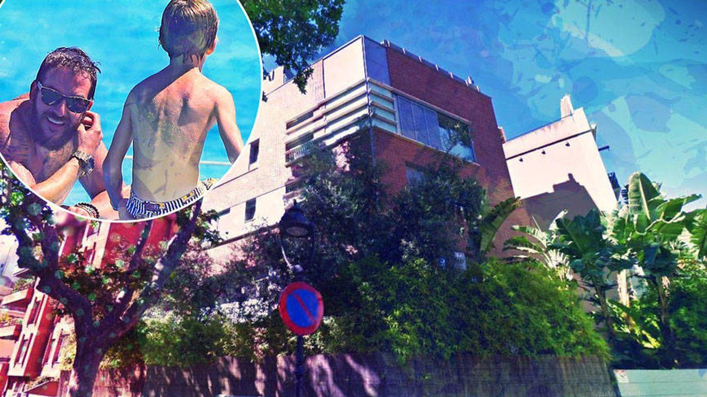 Sacha Thyssen (9 años), dueño de un casoplón en Barcelona