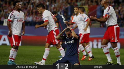 El Benfica incendia el Calderón y convierte al Atlético en un tierno flan