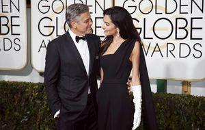 Clooney a su mujer en los Globos de Oro: Estoy orgulloso de ti