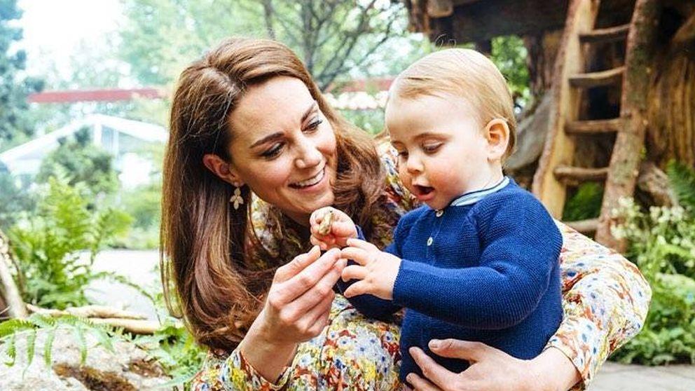 Ni Meghan, ni Kate, ni la reina... El príncipe Louis es la verdadera estrella