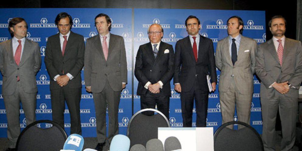 Foto: Algunos de los miembros de la familia Ruiz-Mateos. (EFE)