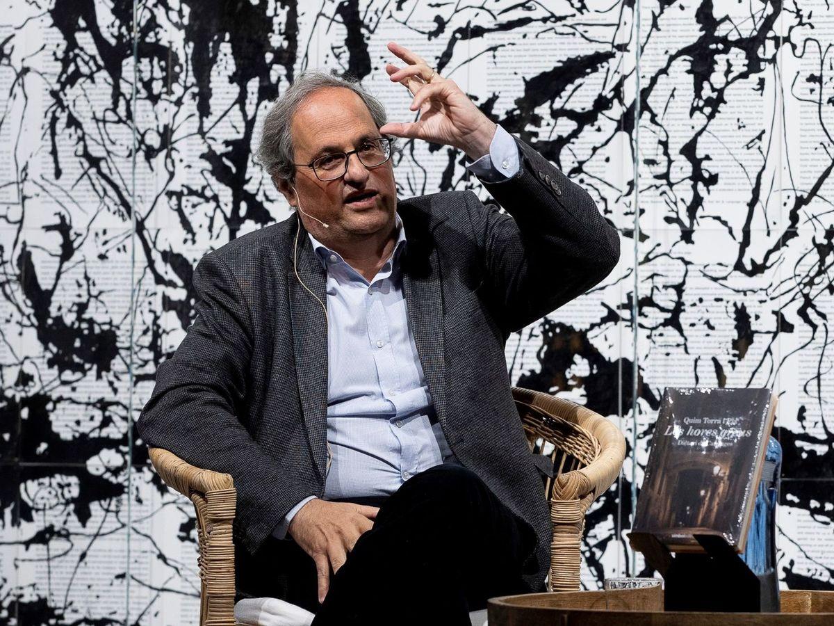 Foto: El expresidente de la Generalitat Quim Torra. (EFE)