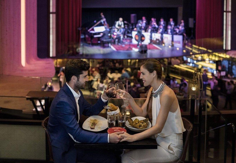 Restaurantes platea orfila d nde cenar en nochebuena - Restaurantes navidad madrid ...