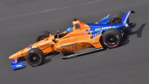 Fernando Alonso, sin problemas en su cuarto día en las 500 Millas de Indianápolis