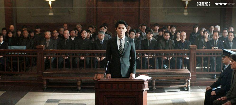Foto: Masaharu Fukuyama, en un fotograma de 'El tercer asesinato', de Hirozaku Koreeda. (Golem)