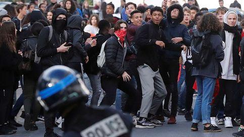 Contra la reforma educativa en Francia y 40 aniversario de la Constitución: el día en fotos