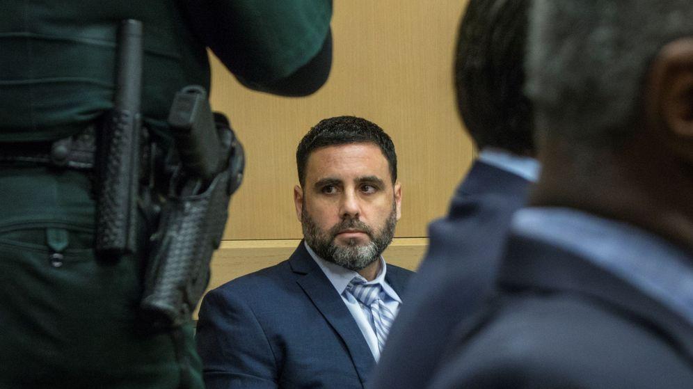 Foto: Pablo Ibar asiste a una audiencia en el Tribunal Estatal de Florida. (EFE)