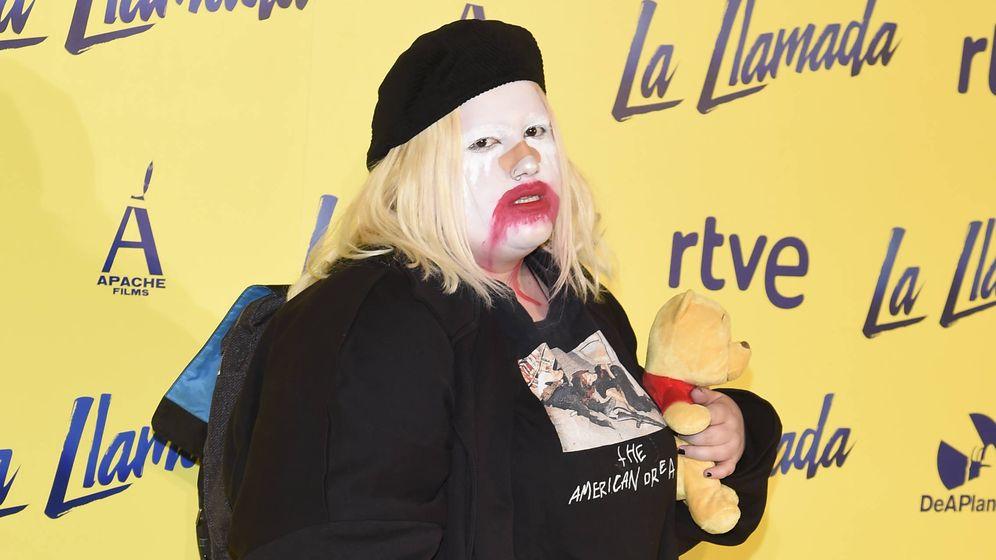 Foto: Estíbaliz Quesada, más conocida como Soy una pringada, durante el estreno de 'La llamada'. (Gtres).