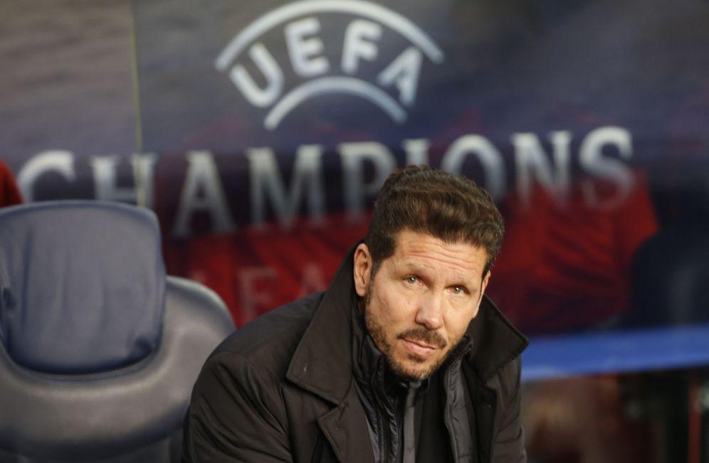 Foto: Simeone tiene obsesión por colocar la Champions League en su currículo como entrenador del Atlético de Madrid. (Reuters)