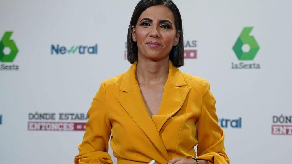 Foto: Ana Pastor con el look en cuestión. (Cordon Press)