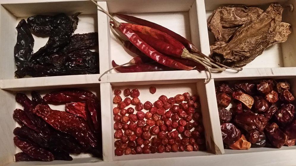 Foto: Caja de chiles de Punto MX (Foto: Capriles)