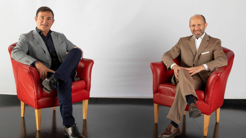 Jean-Pierre Ploué (izquierda) es el nuevo Jefe de Diseño de Lancia y Luca Napolitano (derecha) es el CEO de la marca italiana.