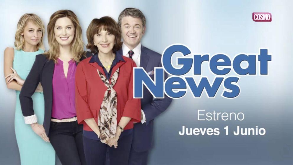Cosmo estrena este 1 de junio la comedia 'Great News'