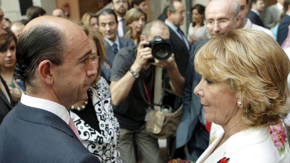 Foto: Manuel Lamela, cuando era consejero del Gobierno de Esperanza Aguirre.
