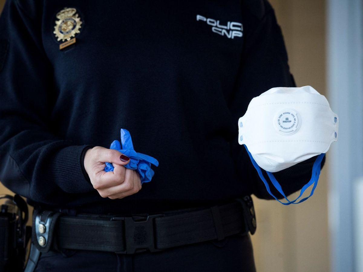 Foto: Policía anuncia medidas de prevención para coronavirus