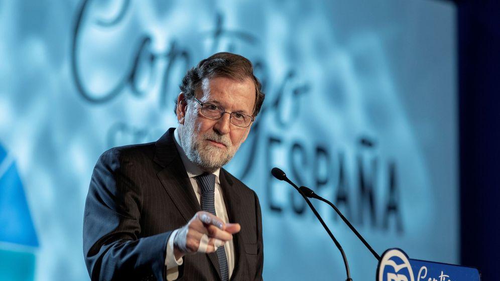 Foto: Mariano Rajoy clausura la convención nacional del PP en Sevilla. (EFE)