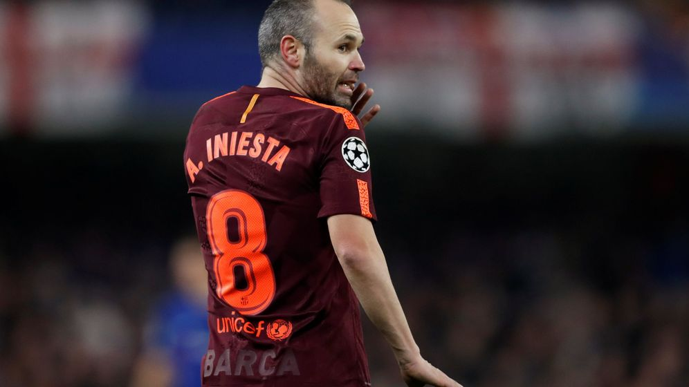 Foto: Iniesta fue clave en el partido de ida con su asistencia a Messi en el 1-1. (Reuters)