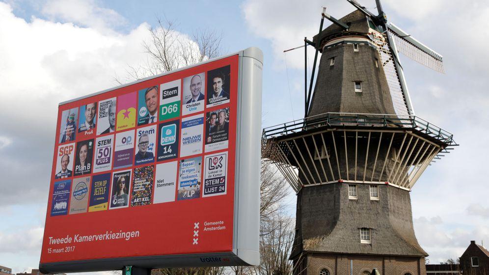Foto: Imagen de archivo de una campaña política holandesa. (Reuters)