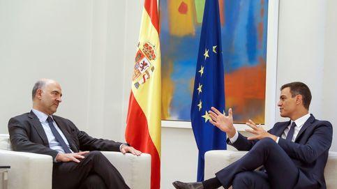 Moscovici advierte a Sánchez de que todavía se necesita un ajuste estructural