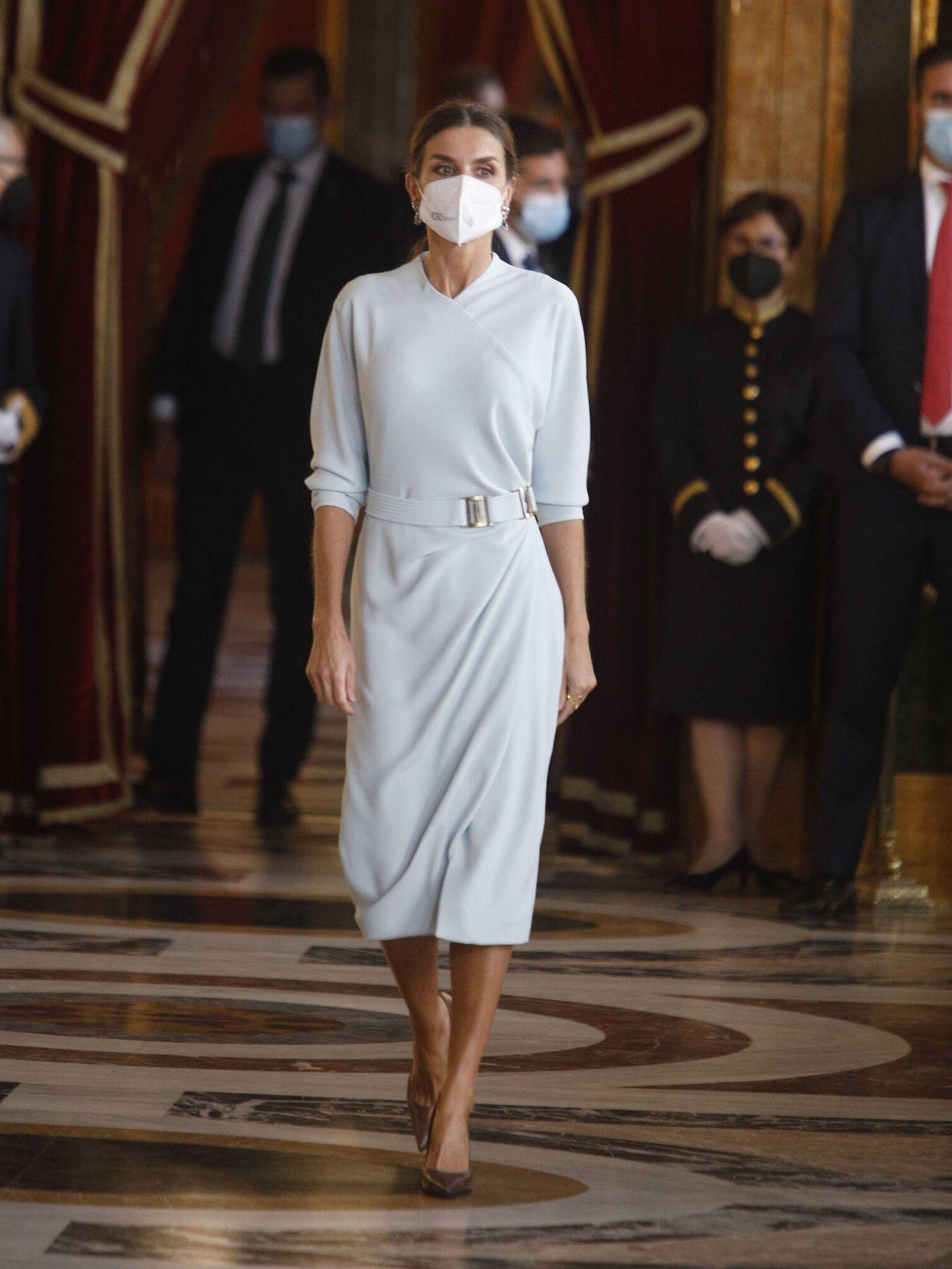 La reina Letizia, en el Palacio Real. (Limited Pictures)