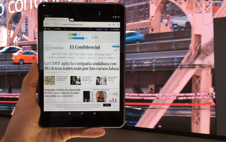 Foto: Nokia vuelve con una tableta que reúne lo mejor del iPad y Android