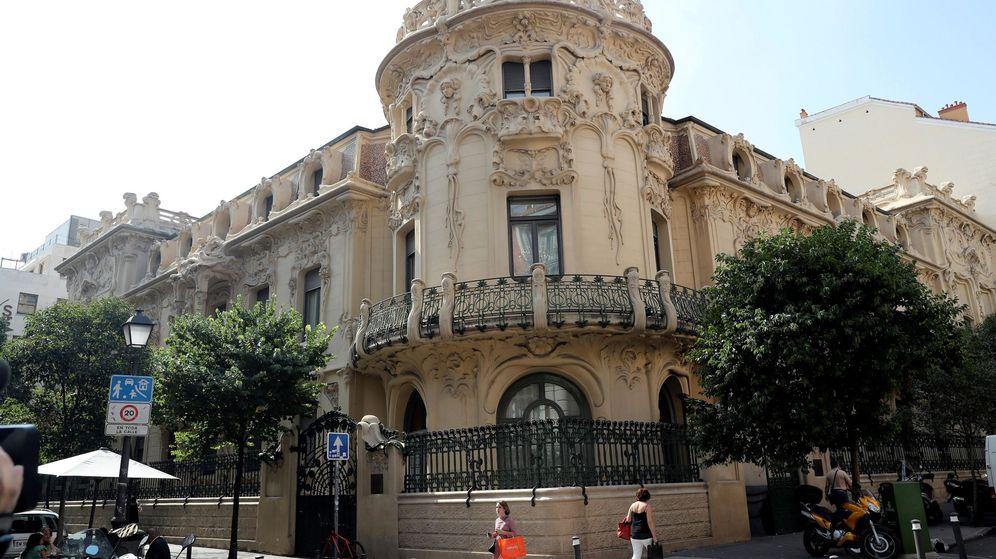 Foto: La sede de la SGAE en Madrid (EFE)