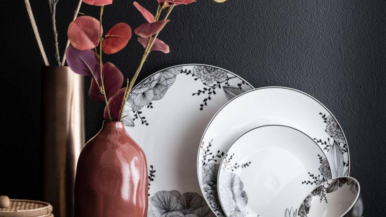 Te mereces una mesa de lujo con estas cinco vajillas (low cost) de Maisons du Monde y El Corte Inglés