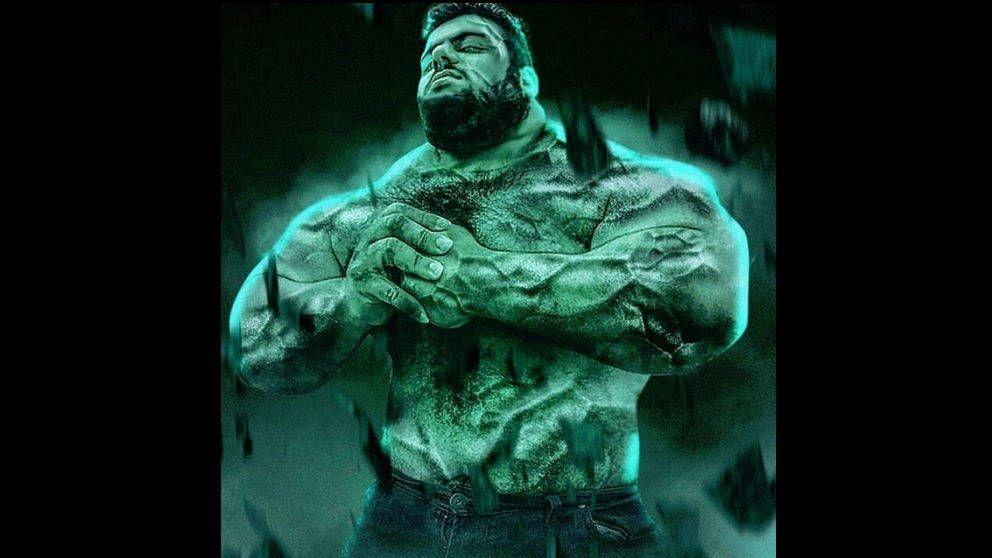 Así es Sajad Gharibi, el 'Hulk iraní' que luchará contra el ISIS en Siria
