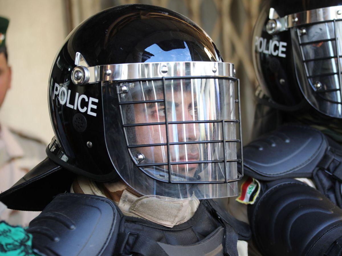 Foto: Fotografía de archivo de un policía en Irak. (EFE)
