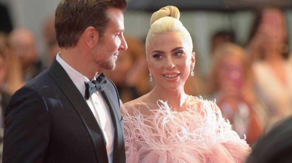 Foto:  Cooper y Gaga, en el Festival de Venecia. (Getty)