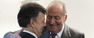 """Foto: Don Juan Carlos, en la Cumbre: """"Aquí me tenéis, un poco tullido"""""""