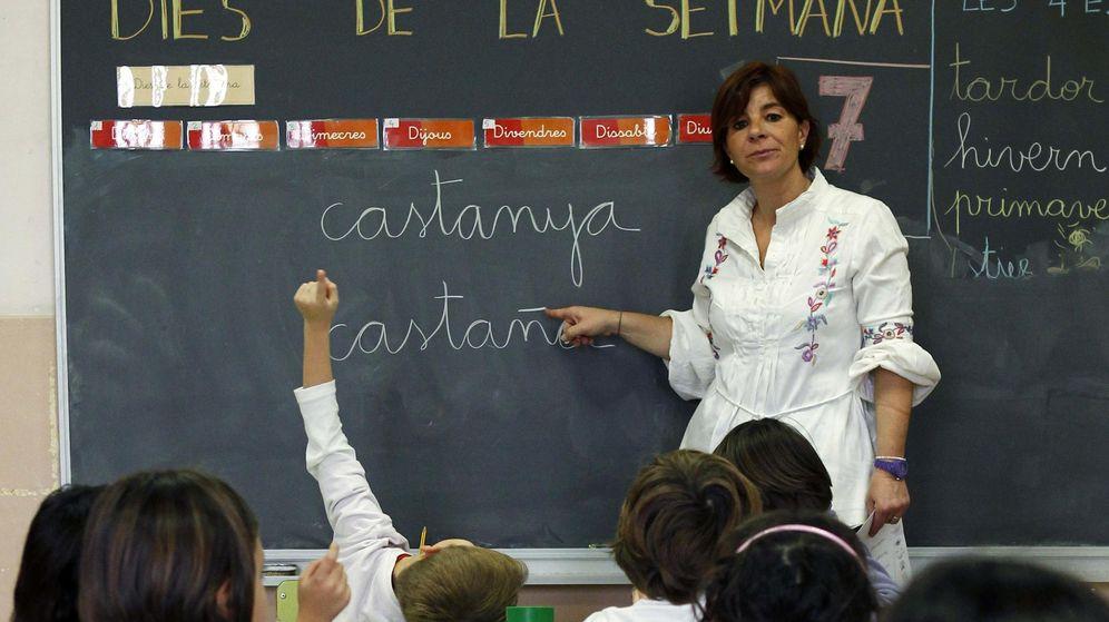 Foto: Un colegio en Cataluña. (Reuters)