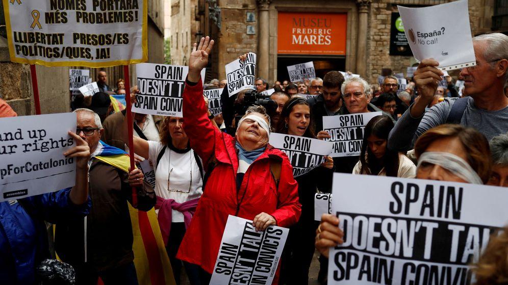 Foto: Manifestación a favor de la independencia en Barcelona. (Reuters)