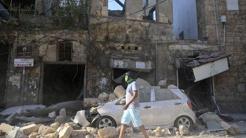 Beirut, zona catastrófica tras la explosión de nitrato de amonio