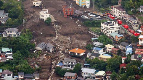 Un alud de barro deja cuatro muertos en Japón