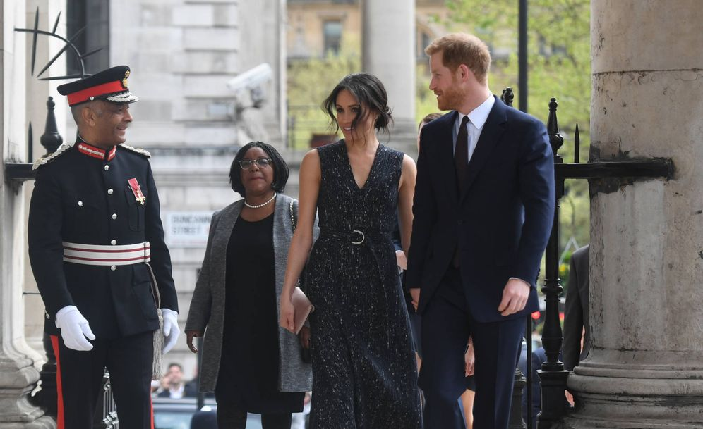Foto: El príncipe Harry y Meghan Markle en una imagen de archivo. (Gtres)