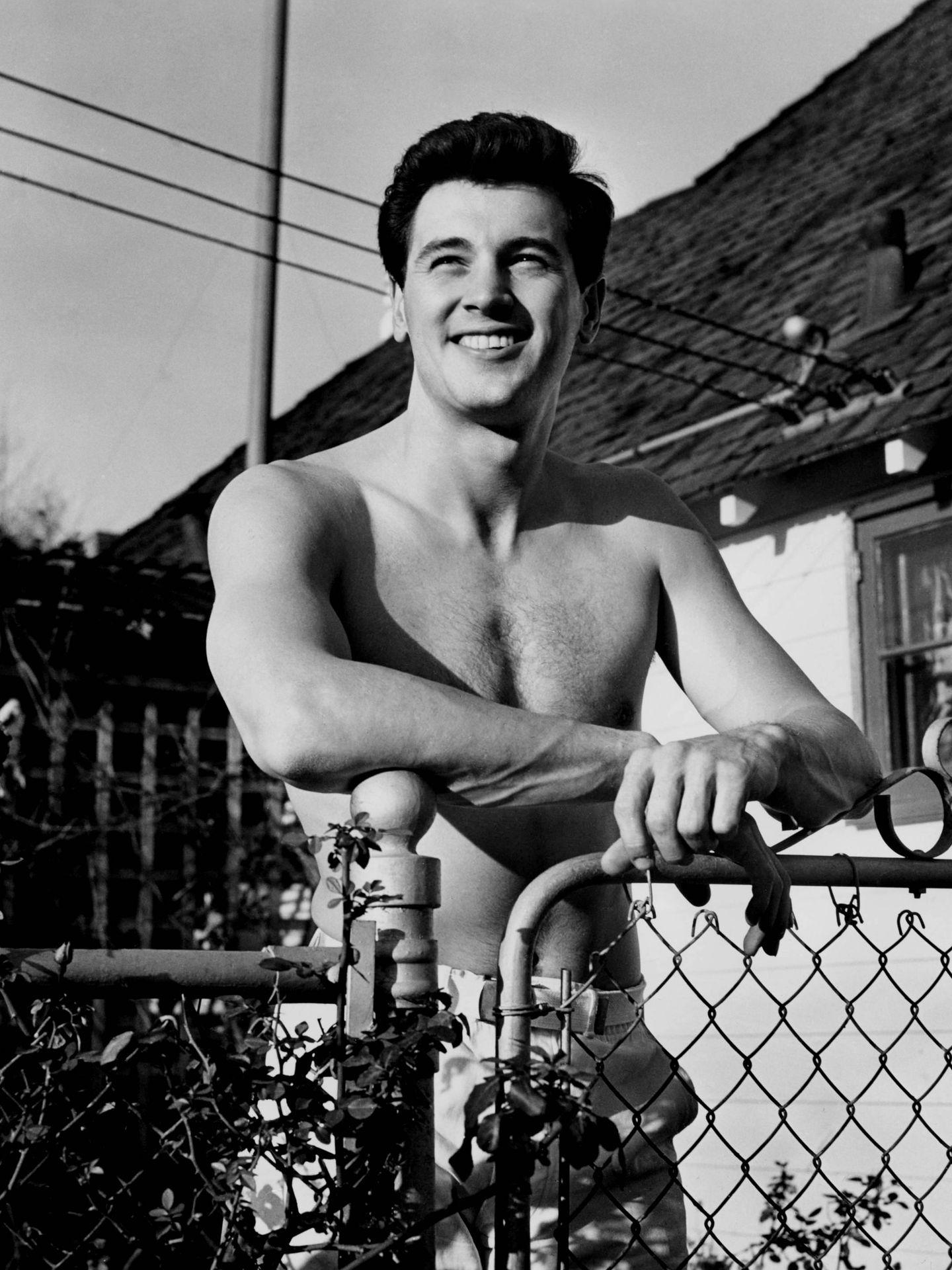 El actor, en una imagen publicitaria de los años 50. (CP)